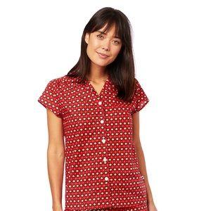 The Cat's Pajamas   Hadley Luxe Pima Cotton Top